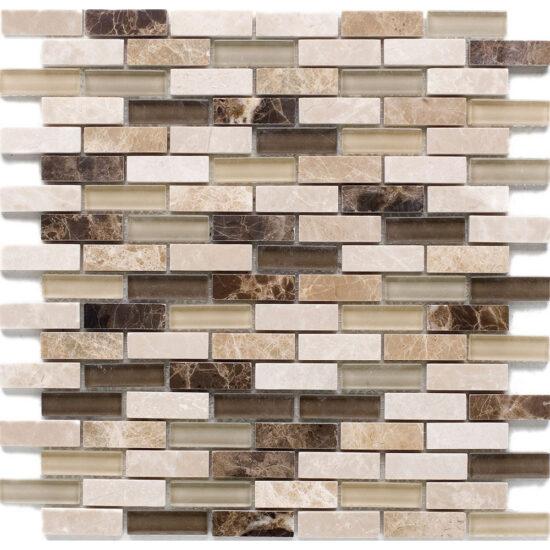 Kenya Brick (15x48mm) 300x300mm