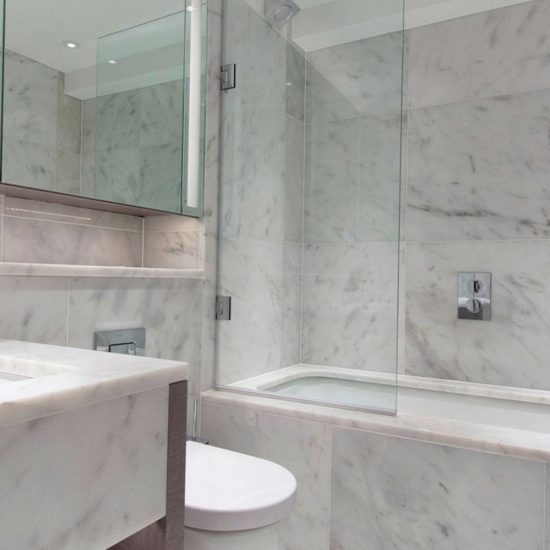 Carrara White Polished ShowRoom