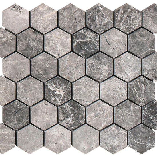 Silver Moon Mosaic - 13x305x610mm 2