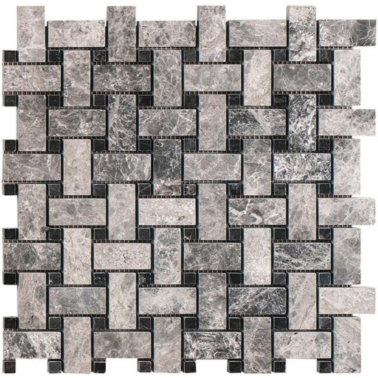 Silver Moon Mosaic - 13x305x610mm 1