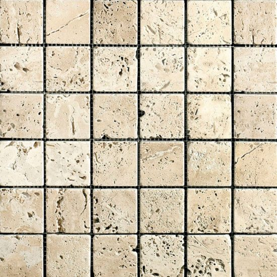 Lydia Antique Tumbled Mosaic - 23x23mm 1