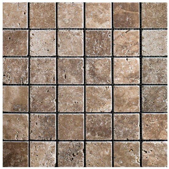 Siva Noce Mosaic - 305x305mm 1