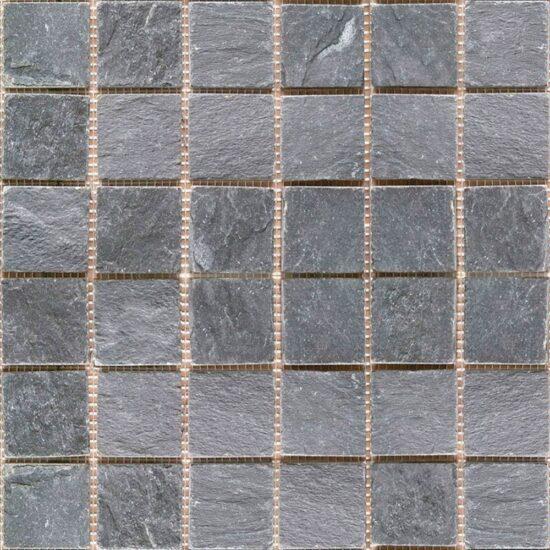 Imperial Black Mosaic - 48x48mm 1
