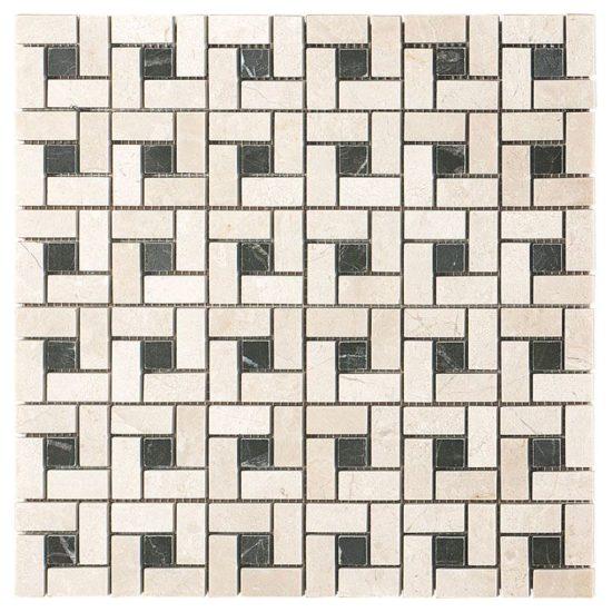 Crema Marfil Select Mosaic 2