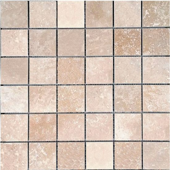 Lydia Classico Honed & Filled Mosaic - 48x48mm 1