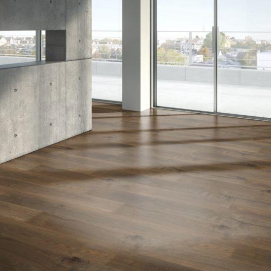 Trendtime Oak smoked grey handcrafted Wide plank Art. Nr