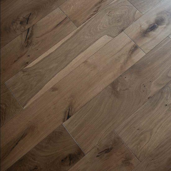VIT108 Oak Smoked Rustic Brushed & Oiled - 190×300-1200mm 4