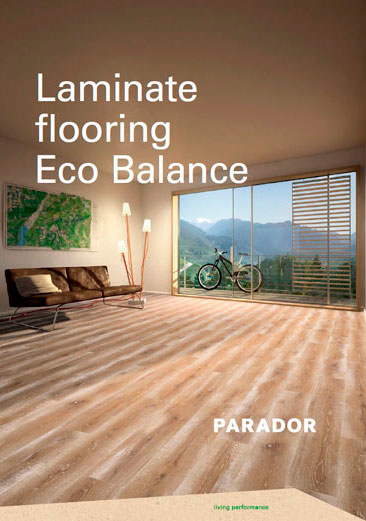 Laminate flooring Eco Balance