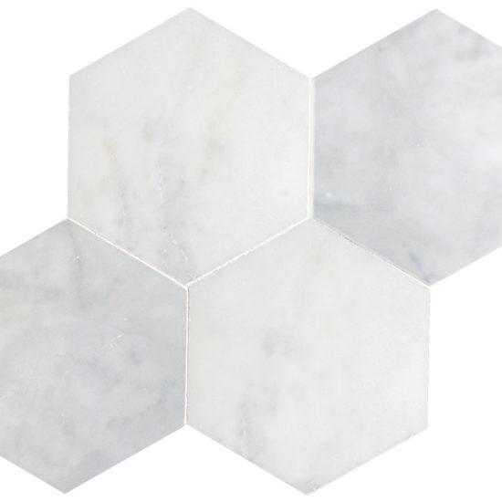 Bianco Carrara Hexagon