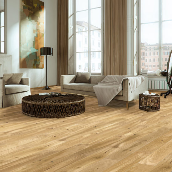 5g Lacquered Engineered Oak