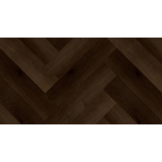 Aquacore Herringbone Rigid Vinyl 5.5x120x600mm Ebony Oak