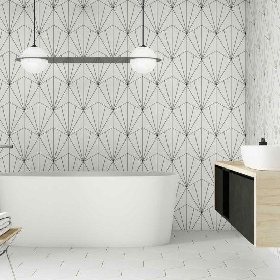 Venus White Bathroom
