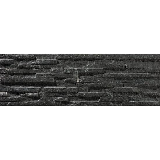 Behobia 170x520mm Negro Matt