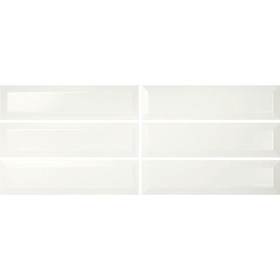 Kentucky 75x300mm White Gloss Faces