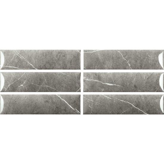 Bombato Eternal 75x300mm Dark Gloss Faces